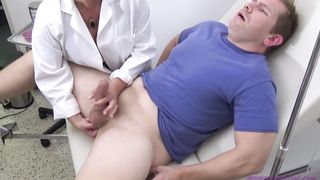 Mother And Son Medical Exam