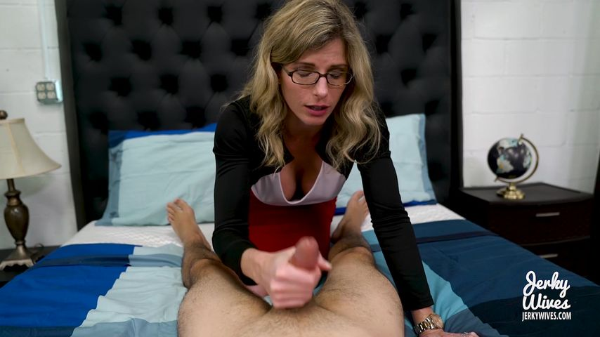Step Mom Helps Virgin Son