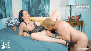 Angie Noir in Mom Wants Stepson Creampie Seed In Pussy