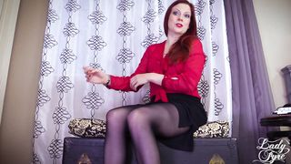 Lady Fyre - Impatient Mother JOI