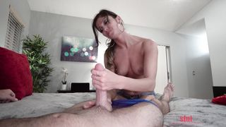 My New Stepmom Caught Me Fapping
