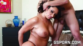 Mom big boob and big ass for anal sex