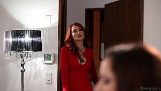 Hot MILF Kendra James Seduces Ember Stone