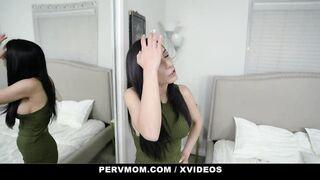 PervMom - POV Quickie With Stepmom On Counter
