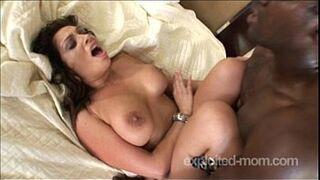 Big tit greek milf fucking black guys cock in Hot Milf Sex Video