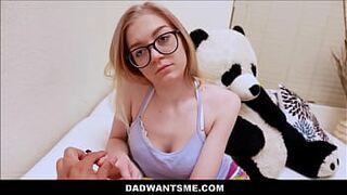 Young Skinny Blonde Teen Step Daughter Jadyn Hayes POV