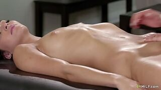 Young Innocent Step Daughter Gets an Extra Massage