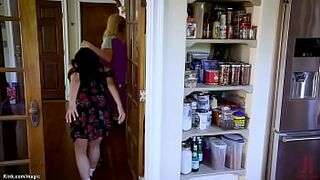 Stepmother makes stepdaughter fucking