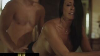 Family Sinners - Reagan Foxx Apologises To Her Stepson Codey Steele For Yelling By Riding His Cock
