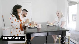 Horny Cutie Explores Her Sexual Desires And Lets Her Step Cousin Bangs Her In Front Of Her Step Aunt
