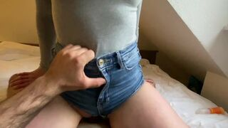 amateur stepmom fucked in her jeans shorts