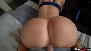 Stepmom sucks and fucks me while on the phone with dad