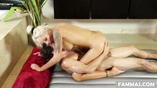 My step mom gives me nuru massage! - Nina Elle and Tyler Nixon