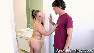 Chubby stepsis gets fuck