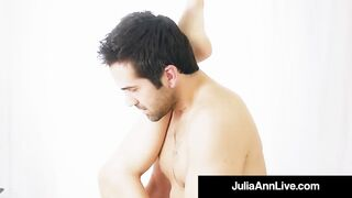 Hot Step Mother Julia Ann Gets Nude & Naughty with Step Son!