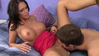 WANKZ - Hot Stepmom Hooks Up With Her Stepson!
