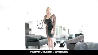 PervMom - Big Tits Stepmom Drilled By Stepson