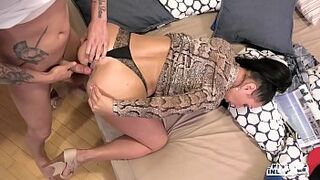 KINKY INLAWS - #Eva Ann - Russian Milf Forbidden Anal Sex With Young Stepson