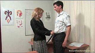 Russian mature teacher 4 - Katerina