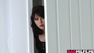 Hot fuck lesson with stepmom Amber and gf Blair