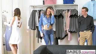 Babes - Changing Room Charmer  starring  Amirah Adara and Verona Sky clip