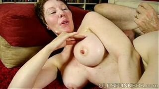 Dirty old darling Dana is a super hot fuck