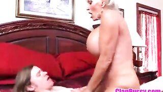 seduce my grandma and mom to fuck